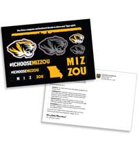 Postcard sticker - University of Missouri